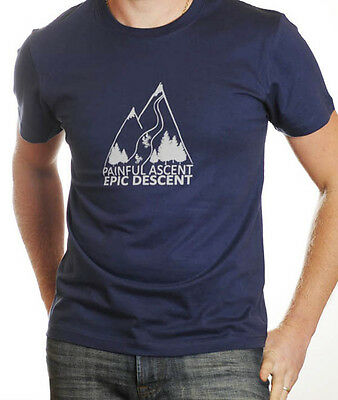 The Alps Cycling T Shirt - The Perfect gift for the cycling fan! JANUARY SALE