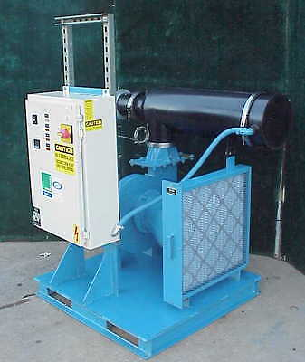 Una-Dyn HD-11 Hot Air Hopper Dryer for Plastics Process 100-250 deg F 450 CFM