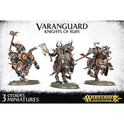 Warhammer Age of Sigmar Fantasy Chaos Varanguard Knight of Ruin