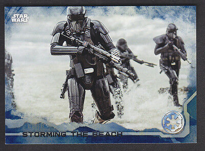 Topps Star Wars - Rogue One Series 1 - # 29 Blue Squad Parallel
