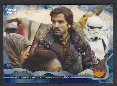Topps Star Wars - Rogue One Series 1 - # 47 Blue Squad Parallel