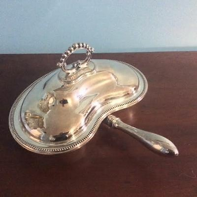 Sheffield Silver Covered Divided Serving Dish w/ Handle – Lee & Wigfull