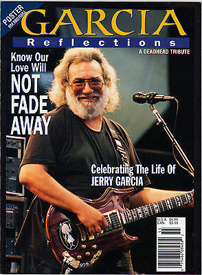 Garcia Reflections Magazine 1995 Jerry Garcia Grateful Dead RIP Special Issue