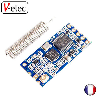 1129# Module HC-12 SI4463 wireless 433mhz, 1000M arduino antenna for bluetooth