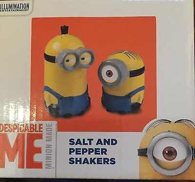 Despicable Me Salt & Pepper Shakers - New Minion Salt and Pepper Shakers