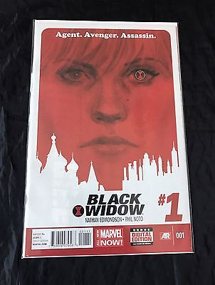 Black Widow #1-20 (2014) Full Set Series Marvel Now Edmondson Noto Run