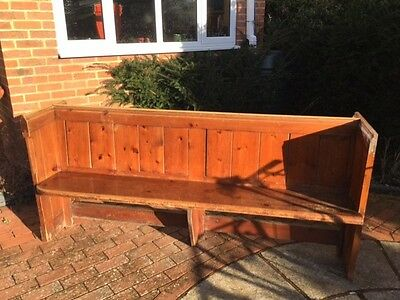 Church Pew, Early Victorian, Pine