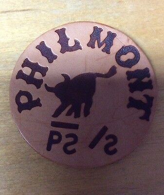 Bsa Boy Scouts Philmont Leather Patch New
