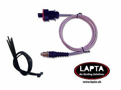 Water Temperature Sensor for Alfano Astro / LV / PRO+  Rotax long lead for Karts