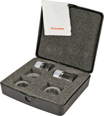 Celestron 94306 PowerSeeker Telescope Accessory Kit with 2 eyepieces & 3 filters