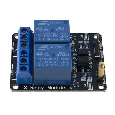 Two-Channel Relay Expansion Board For Arduino