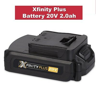 Genuine Xfinity Plus 20V 2.0Ah Li-Ion Lithium Battery Wesco Cordless Drill Tools