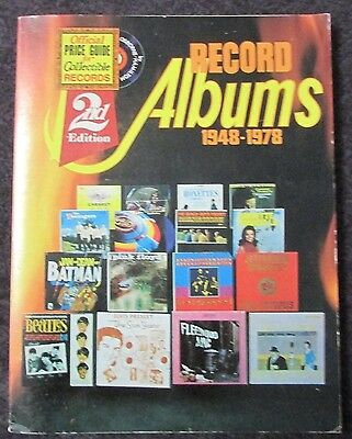 Official Price Guide For Collectible Record Albums 1948-1978 2Nd Ed 1978