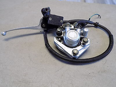 05 Shanghai Meitian MT50QT-3 Chinese Scooter Front Brake Master Cylinder Caliper