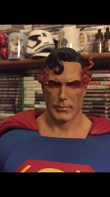 Superman Premium Format Exclusive RARE 100% Complete By Sideshow Collectibles.