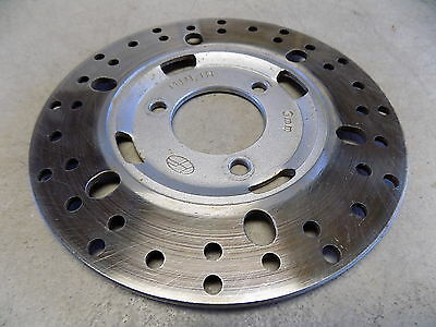 """05 Shanghai Meitian MT50QT-3 Chinese Scooter Good Front Brake Rotor 10"""" Wheels"""