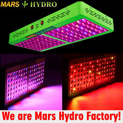 Mars Hydro Led Grow Light Reflector 96 Hydroponic Plant Veg Flower Indoor 190W
