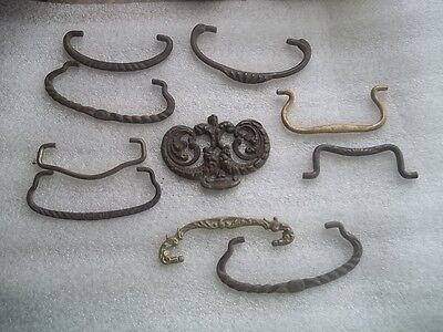 Vintage Antique Mixed Drawer Handle Pull Lot Estate Find Lot 25