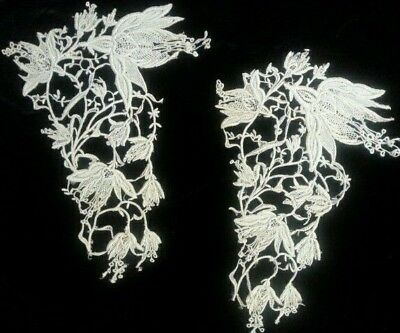 Equisite Antique Needlelace Collar Art Nouveau ~ Collection Samples