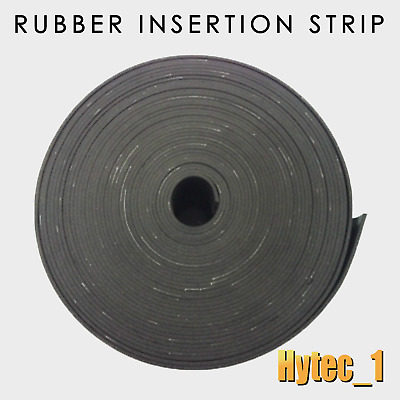 Insertion Rubber Strips 1.5 Mm Thick X 25 Mm Wide X 1 Metre