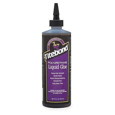 Titebond 12 oz. Polyurethane Wood Glue,  Brown 2300