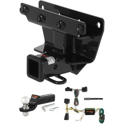 """CURT Class 3 Hitch Tow Package with 2-5/16"""" Ball for 2006-2010 Jeep Commander"""