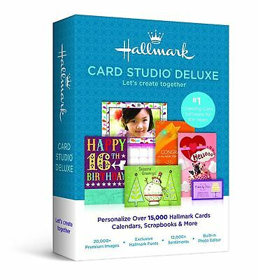 Hallmark Card Studio Deluxe 2015 DVD SEALED