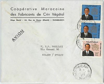 59292 -    MOROCCO - POSTAL HISTORY: COVER to ITALY