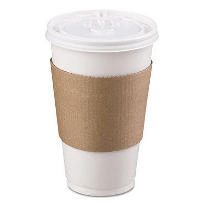 Coffee Clutch Hot Cup Sleeve, Brown, 1200/Carton 6106