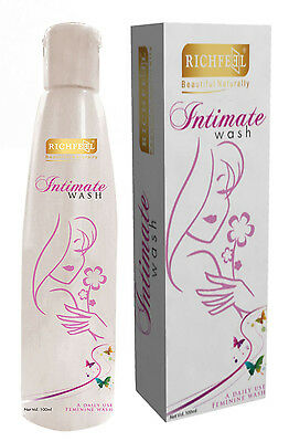 Richfeel Beautiful Naturally Intimate Wash For Women - 3.3 Ounce
