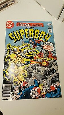 Adventure Comics #456.     (Nm-)    ~Featuring Superboy~    First Print.    1978