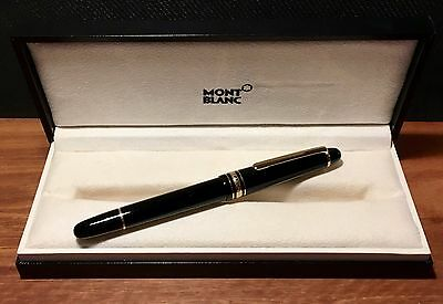Montblanc Stilografica Meisterstück Gold Coated Classique - COMPARABILE A NUOVA