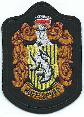 House Hufflepuff Embroidered Patch Iron-on Art Good Luck Magic Harry Potter