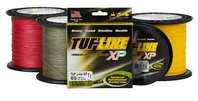 Tuf Line XP Braided Spectra Line Tuff 65lb 600yds Green (5602)