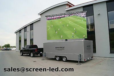 MobiLED   Mobile LED screen on trailer   LED wall   outdoor   portable   display