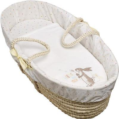 Guess How Much I Love You Moses Basket Bedding Set Blanket Sheet Liner 4 Piece