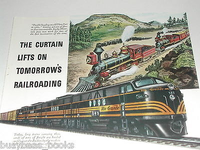 1944 General Motors Diesel advertisement, D&RGW EMD FT 545 DENVER & RIO GRANDE