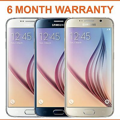 Samsung Galaxy S 6 SM-G920 S6 - 32 GB - Factory Unlocked - Various Colours