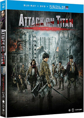 Attack On Titan The Movie: Part 2 (2016, Blu-ray New)