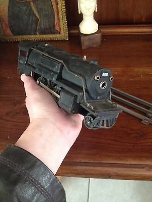 Vintage Locomotiva Lionel 027 258 war/prewar metallo scala 0