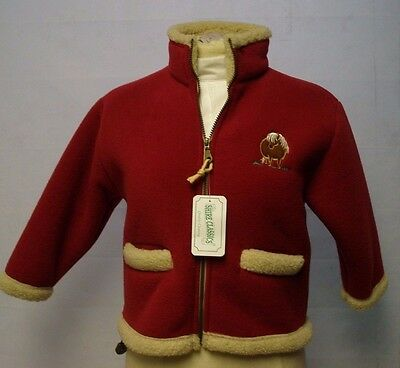 British Country Collection Kid Red Fleeced jacket