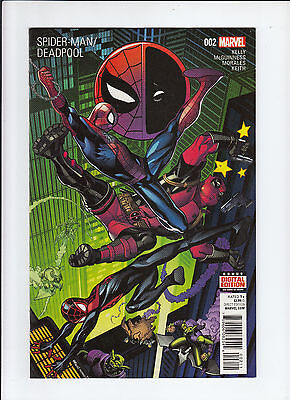 Spider-Man/Deadpool #2 1st print NM sold out!