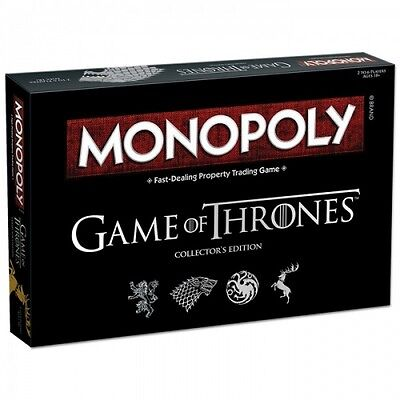 Game Of Thrones Monopoly Collector's Edition Brand New