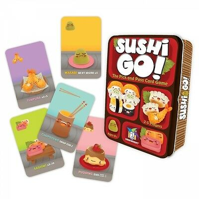 Gamewright Sushi Go Card Game Brand New
