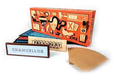 Secret Hitler Board Game Adults German Politics Adults Office Group Team Play
