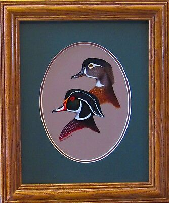 Ducks Unlimited Duck Decoy Wildlife Art Home Decor Wood Limited Edition