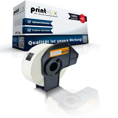 Endlos Etiketten Rolle für Brother PTouch-QL-500-BW 17x54 mm - Easy Print Serie