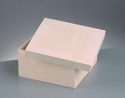 Small Wooden Square Lidded Box to Decorate - 10cm x 10cm x 6cm