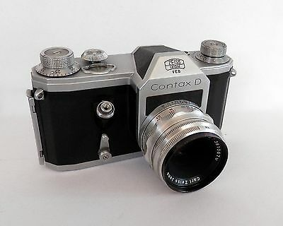 Contax D with 50mm F2.8 Tessar Lens ::FREE UK POST:: 592