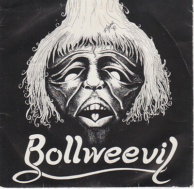 "Bollweevil ‎– Rock Solid 7"" Picture sleeve"